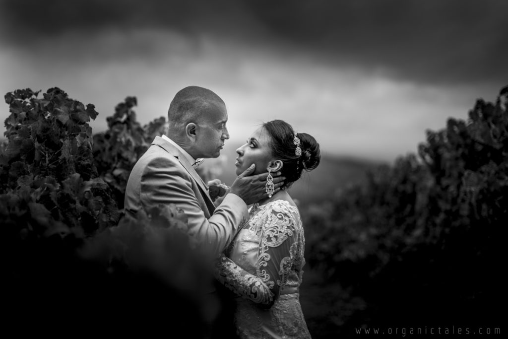 Look what happened at this Rainy Knorhoek Wedding